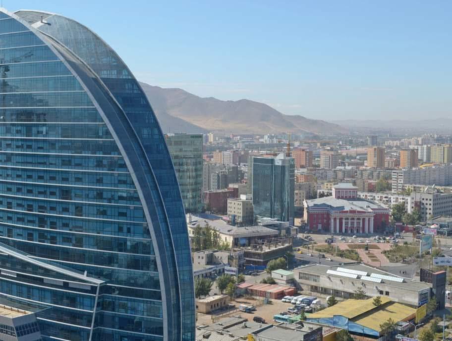Ulan Bator i Mongoliet.