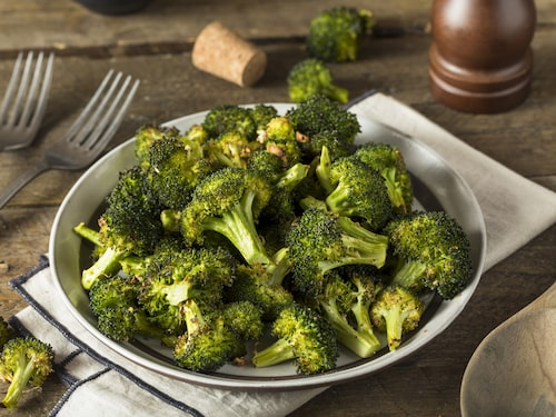 Broccoli är rena rama supermaten.