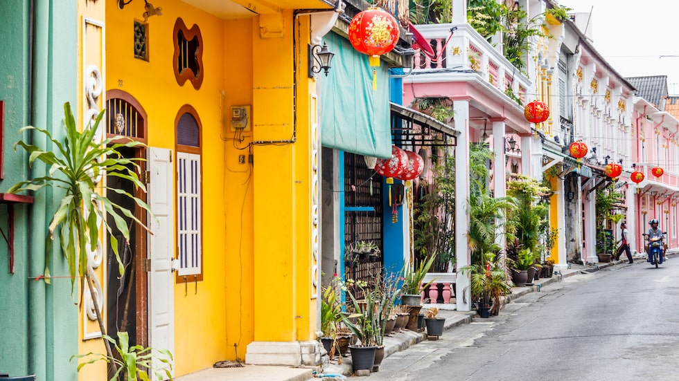 Soi Romanee, den instagramvänliga gatan i gamla Phuket.