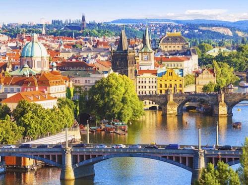 Prag är en förhållandevis grön storstad.