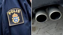 Farliga trenden: Barn andas medvetet in bilars avgaser