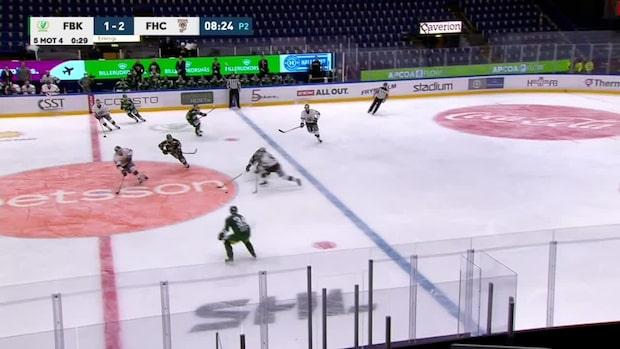 Highlights: Filip Johanssons blev tvåmålsskytt