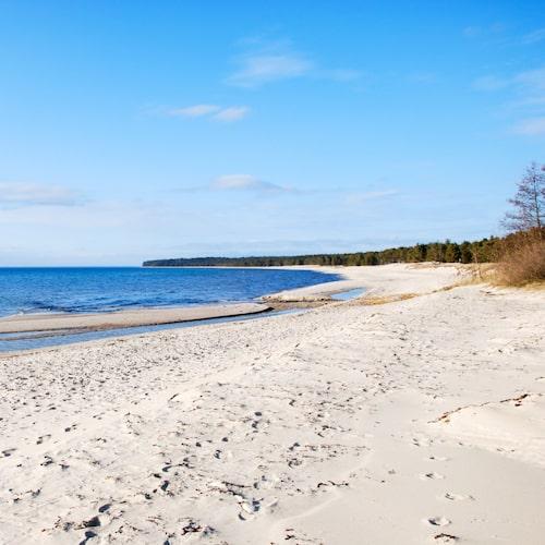 Sonjas Camping ligger på norra Öland, nära Byrum.