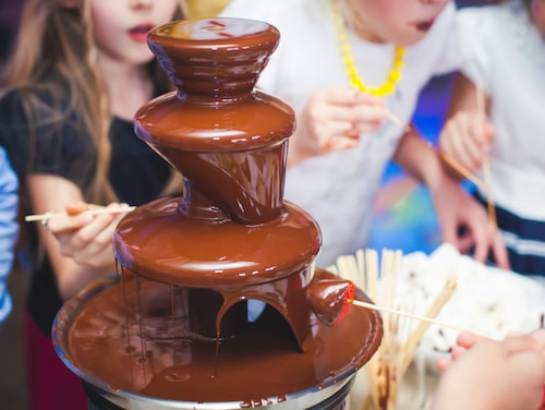 Frossa i choklad på Hotel Fabrica do Chocolate.