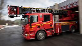 """""""Omfattande brand"""" på massafabrik i Örnsköldsvik"""