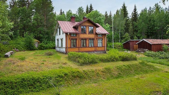 Huset är byggt i början av förra seklet, närmare bestämt år 1909.