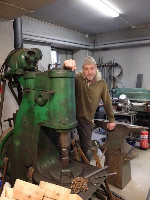 Méhiel Högström driver Smedjan i Bryggerikvarteret, där man även kan ta sig en fikapaus