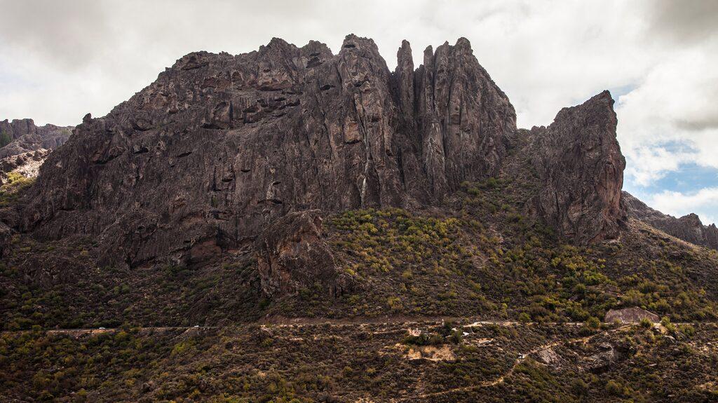 Gran Canaria bjuder på dramatiska berg.