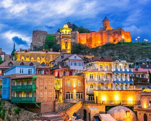 Tbilisi har mycket att erbjuda.