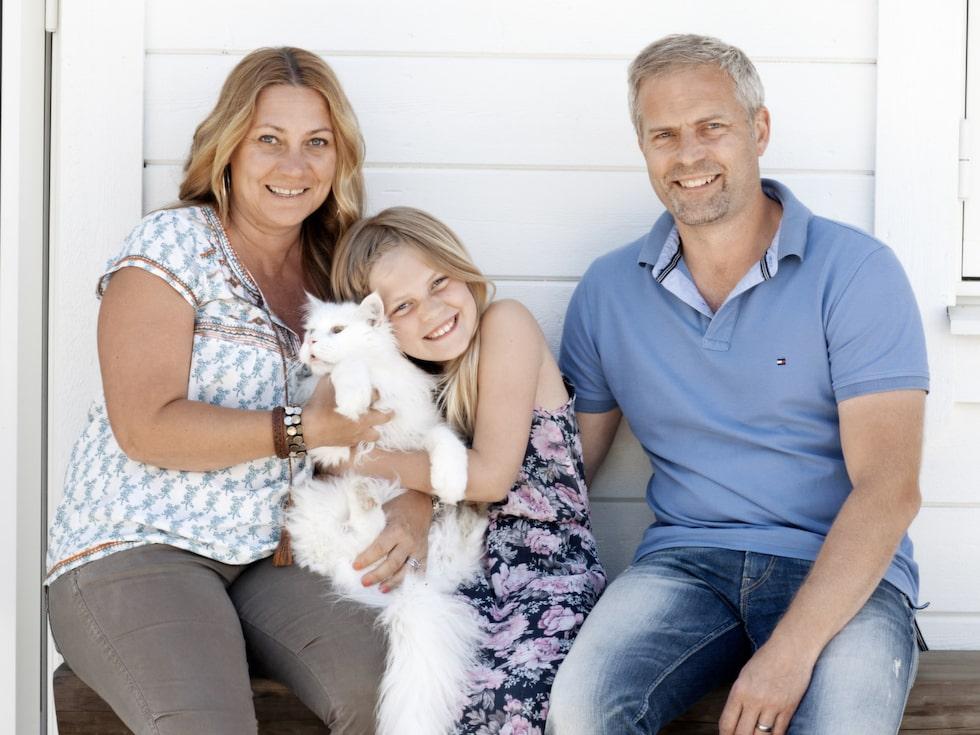 Ann Fagerheim, 46, Jens Fagerheim, 42 och Nova Fagerheim, 9.