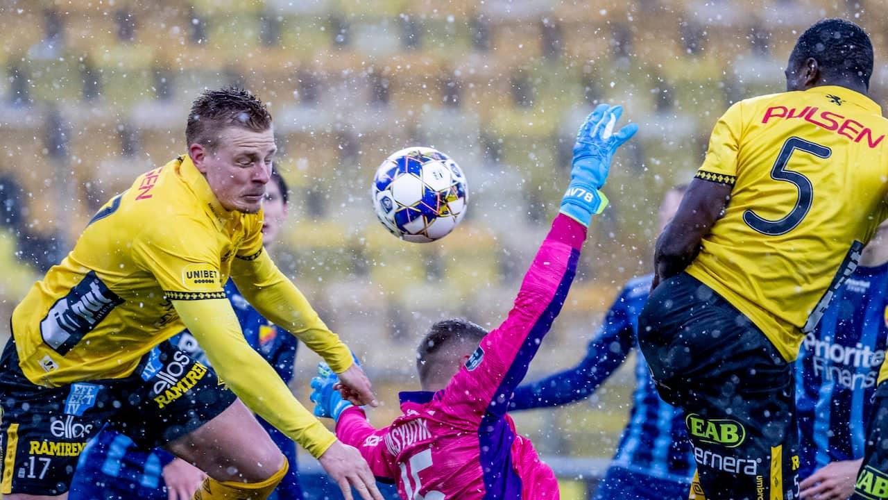 Nick i stolpen, men inget mål för Elfsborg mot Djurgården i allsvenska premiären