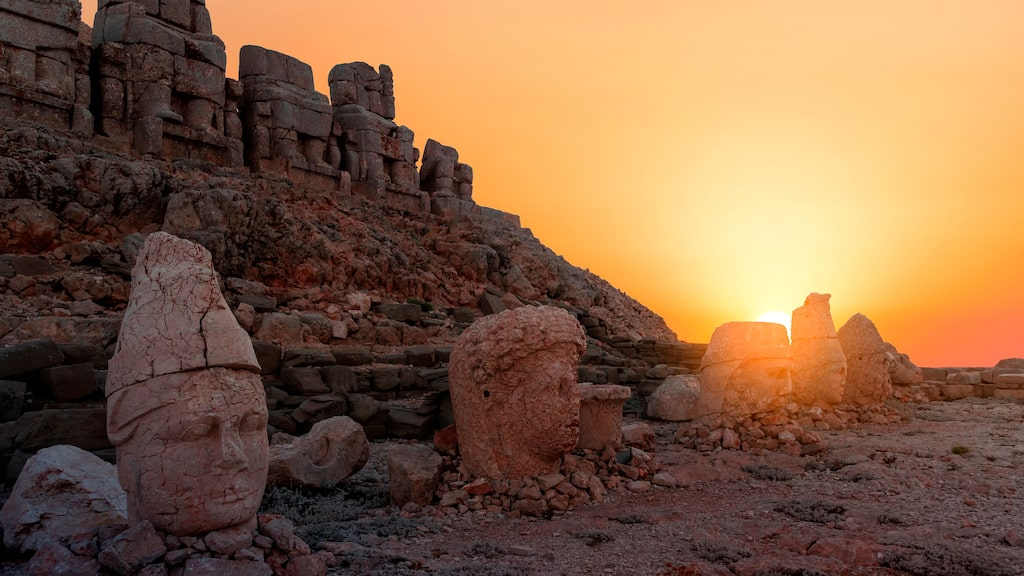Monumenten uppfördes på 100-talet f.Kr.