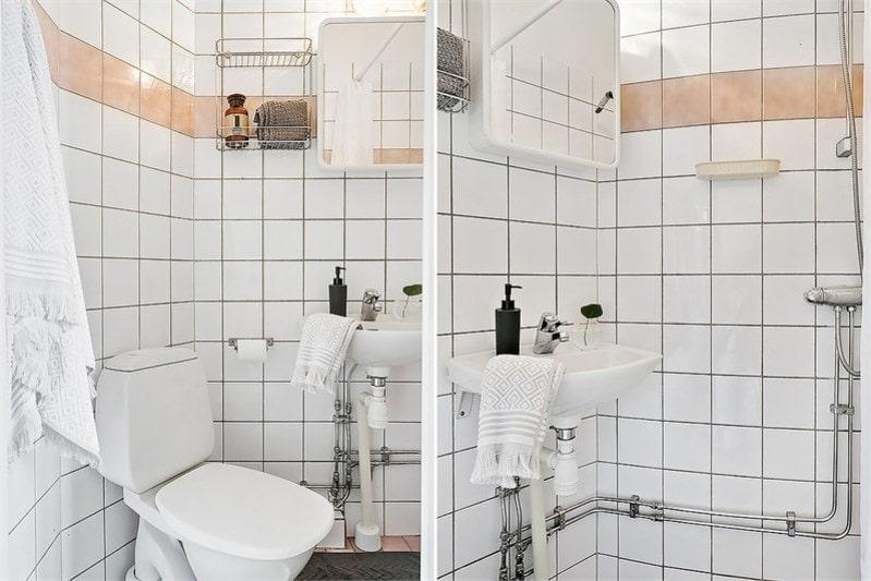 <p>Här finns det även en dusch. </p>