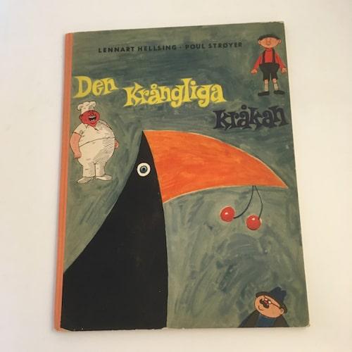 """LENNART HELLSING. Framförallt de tidigare titlarna är eftertraktade. Här exempelvis """"Den krångliga kråkan"""" från 1953, pris ca 900 kronor."""