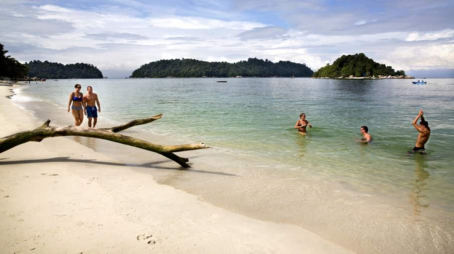 Coral Beach, PANGKOR, MALAYSIA.