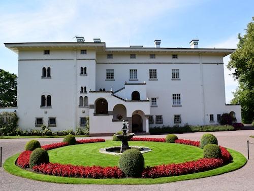 Sollidens slott är kungafamiljens sommarbostad.