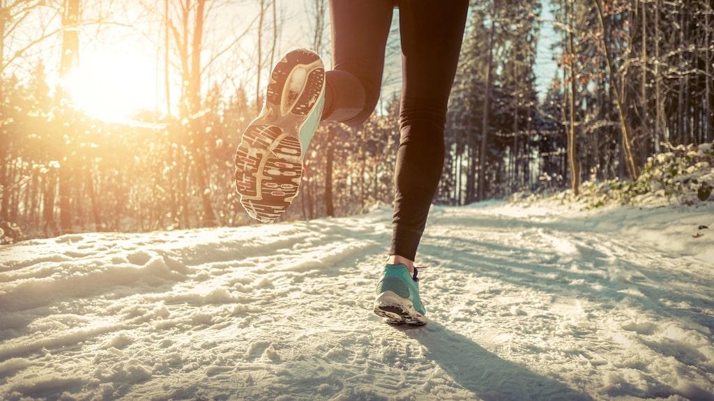 Bra kläder och försiktig uppvärmning är extra viktigt när det är kyligare ute.