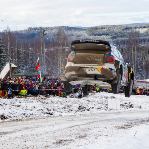 Rally Sweden 2016 i Hagfors.