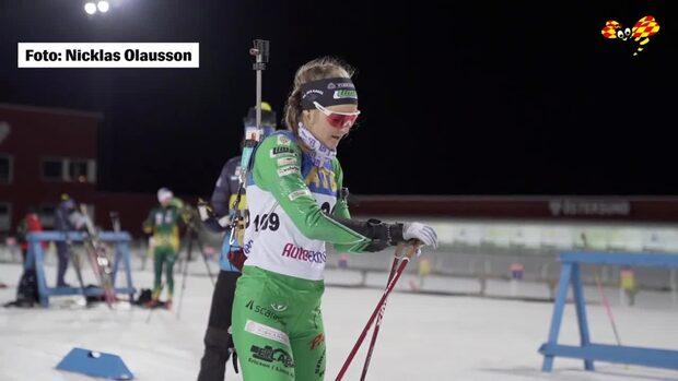 Stina Nilssons dramatiska lopp – ramlar och kör fel