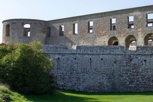 Borgholms slott.