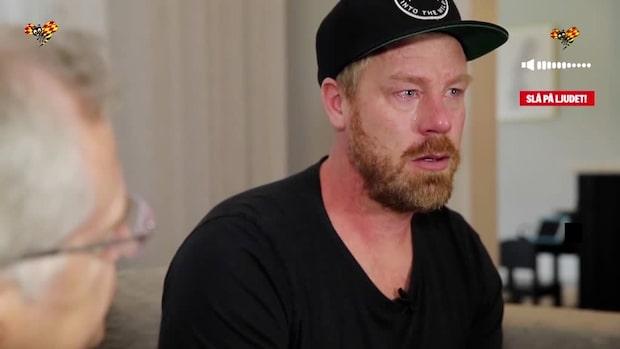 """Johan Franzén om depressionen: """"Förstår de som fastnar i missbruk"""""""