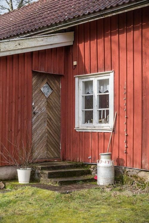 Huset har anor från 1800-talet.