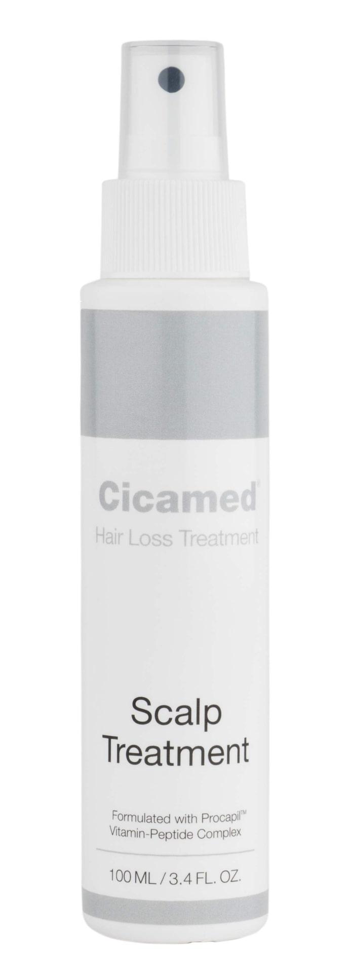 Scalp treatment från Cicamed. Hjälper din hårbotten att aktivera blodcirkulationen om du tappat hår, 425 kronor.