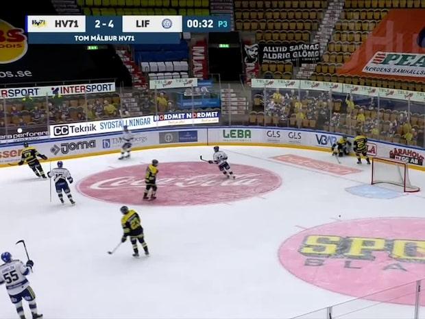 Highlights: Markus Svensson gjorde debut i HV71-tröjan