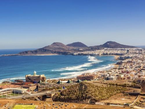 Gran Canaria ingen stor ö, även om hon är ögruppens tredje största.