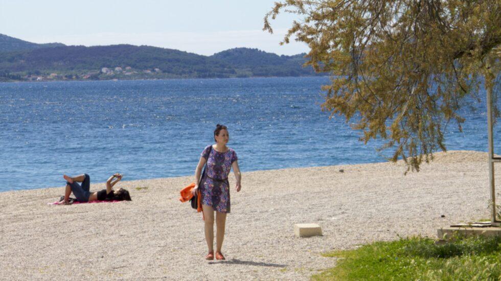 Kolovare är en strand belägen i södra delen av Zadar.