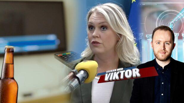 Veckan med Viktor: En ensamsup för Sverige