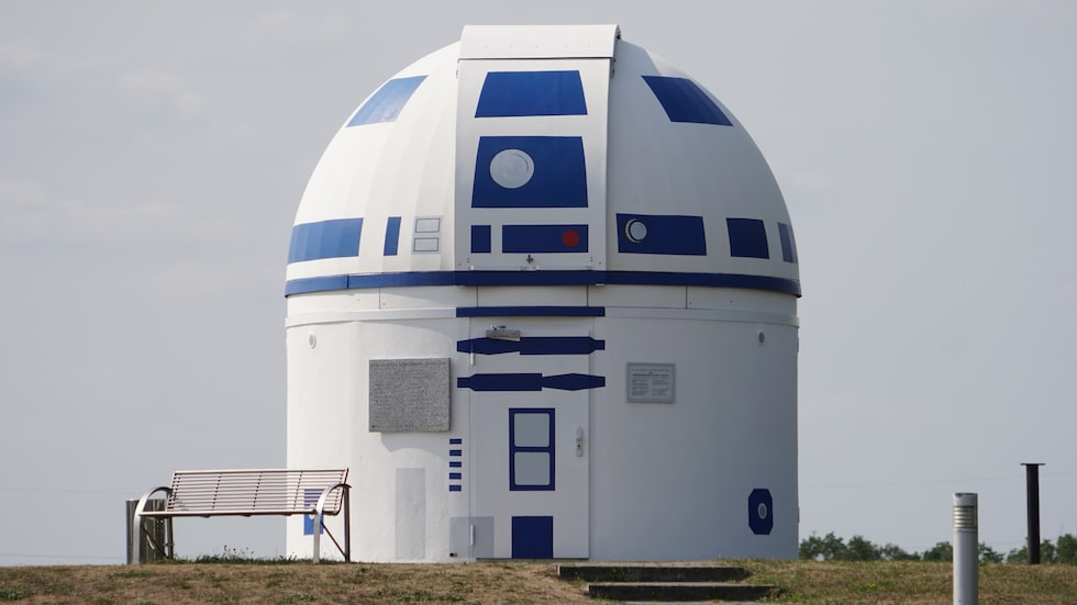 Observatoriet i Zweibrücken liknar inget annat.
