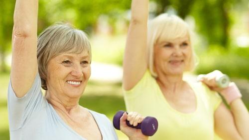 Träning kan förebygga flera sjukdomar.
