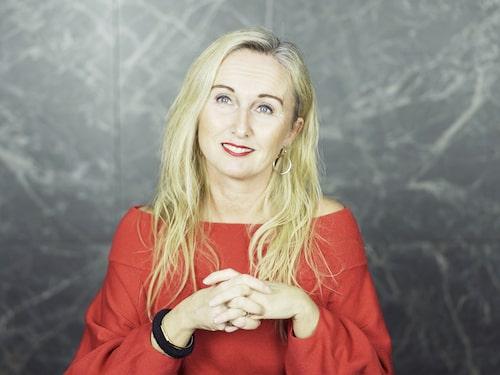 """Katarina Wilk har skrivit boken """"Perimenopower"""", som handlar om perimenopausen."""