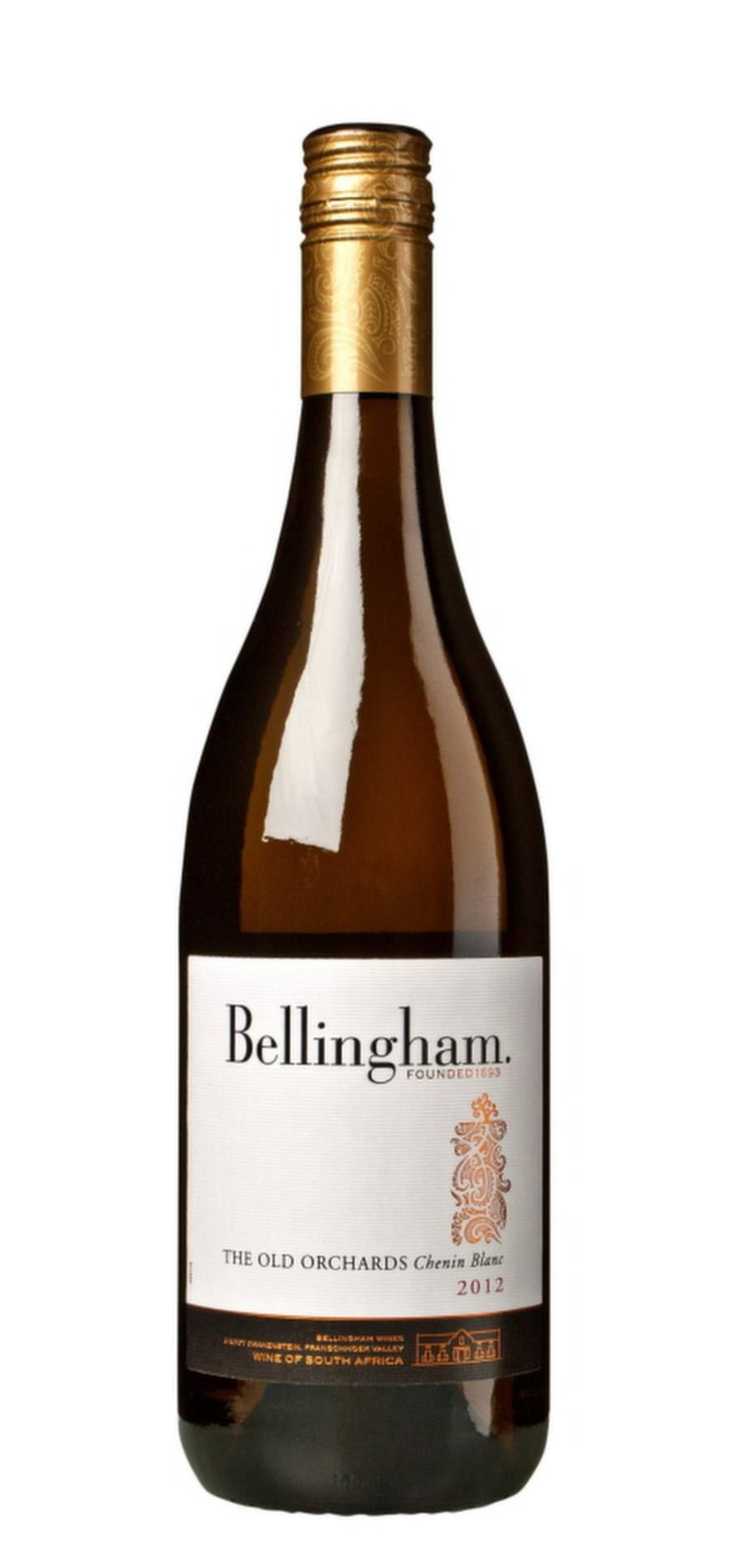 """Bellingham The Old Orchards Chenin Blanc 2013 (2051) Paarl, 99 kr<br><exp:icon type=""""wasp""""></exp:icon><exp:icon type=""""wasp""""></exp:icon><exp:icon type=""""wasp""""></exp:icon>"""