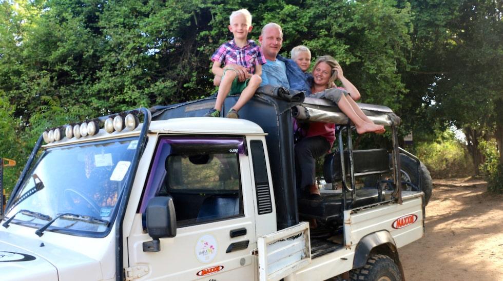 Familjens jorden runt-äventyr har pågått sedan 28 augusti.