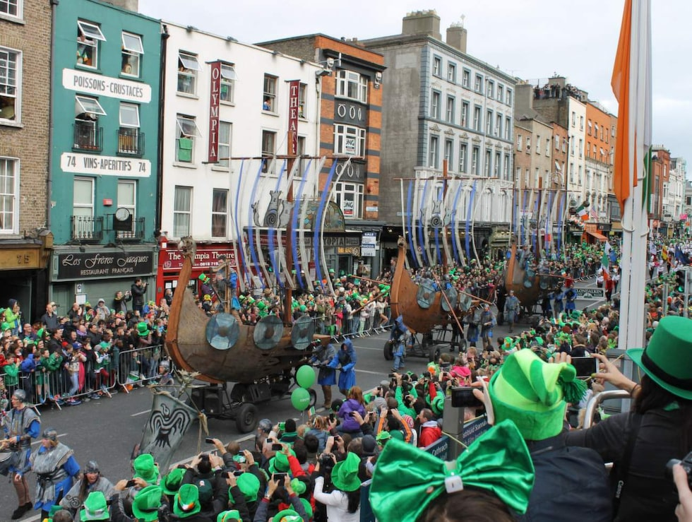 Den 17 mars är Saint Patrick's Day för alla irländare.