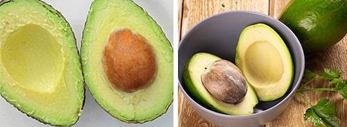 Avokado är fullproppad med enkelomättade fetter.