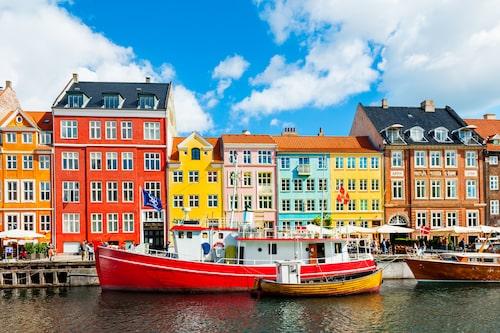 Färgglada Nyhavn.