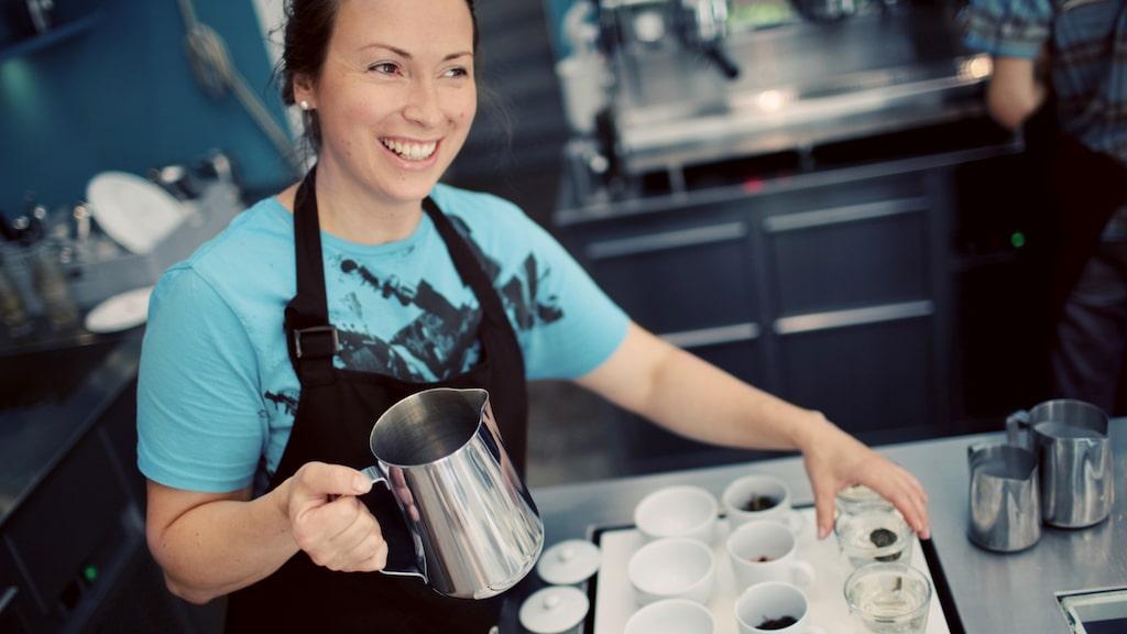 Johan & Nyström har bra kaffe och trevlig personal.