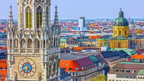 SAS startade en åretruntlinje från Arlanda till München i mars.