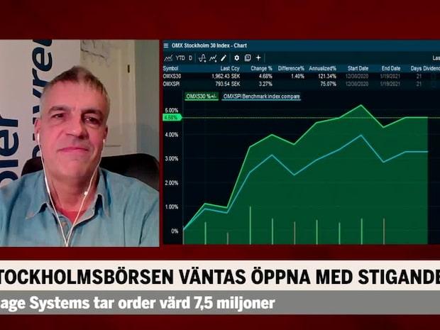 """Guri: """"Börsen är upp 10 % vid sportlovet"""""""