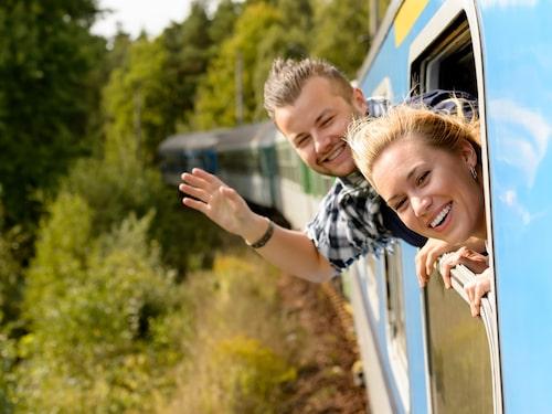 Många använder sig av interrailkort när de åker på tågsemester i Europa.