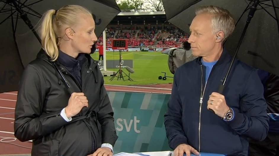 Kajsa Bergqvist Gravid