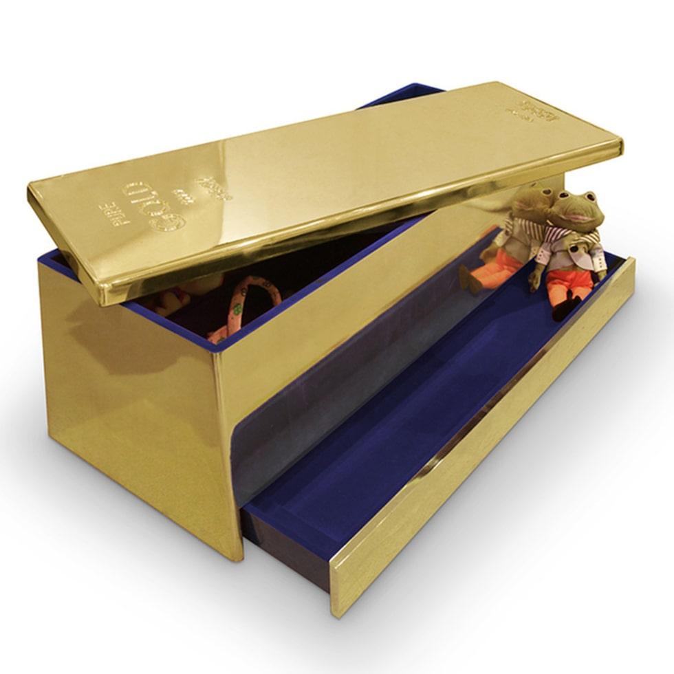 Den här leksakslådan sätter guldkant på dit barns tillvaro.