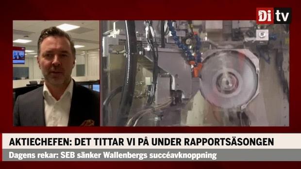 Fredrik Warg om utsikterna för verkstadssektorn efter Sandviks rapport