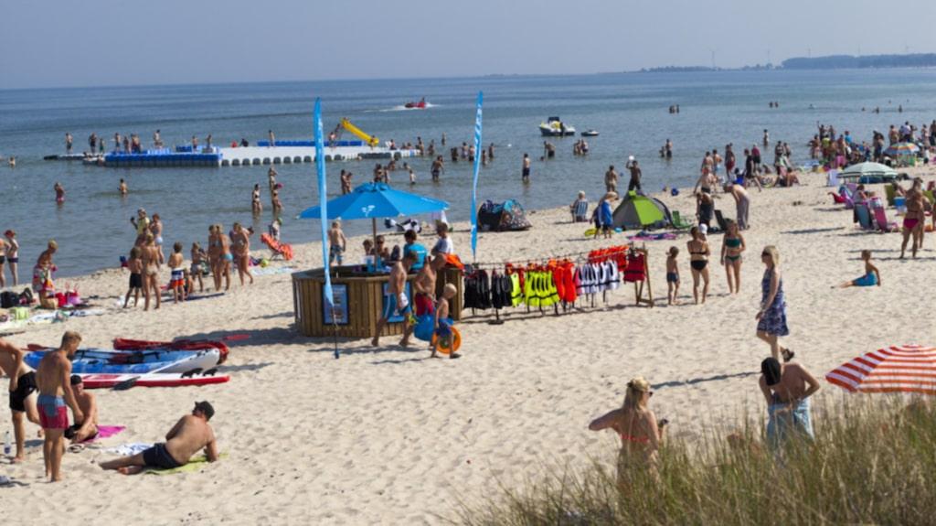 Böda sand är en populär badort på norra Öland.