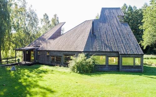 Ralph Erskine fick inspiration både från den samiska arkitekturen och från ursprungsbefolkningen i Nordamerika.