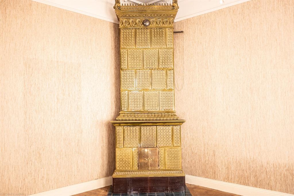 Allting i våningen är original och helt orört, över 100 år gammalt.