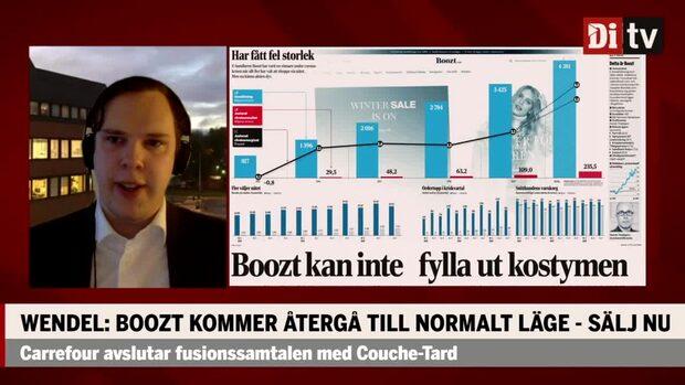 Johan Wendel: Därför ska du sälja e-handelsbolaget Boozt